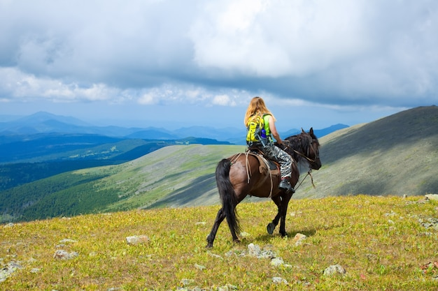 Horseback riding Free Photo