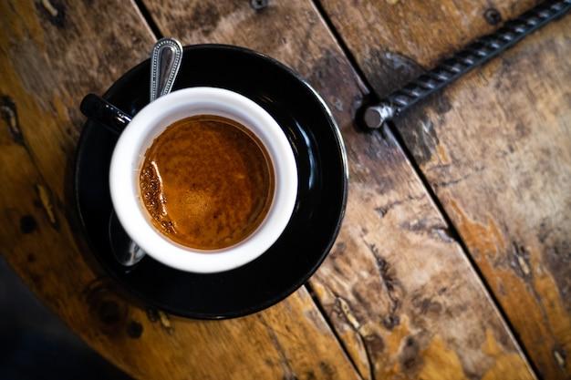 Hot coffee, americano. Premium Photo