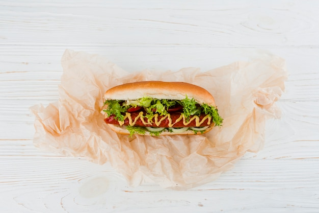 Hot dog Free Photo