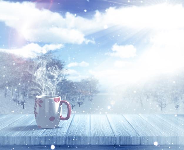 BON JEUDI Hot-drink-in-the-snow_1048-3900