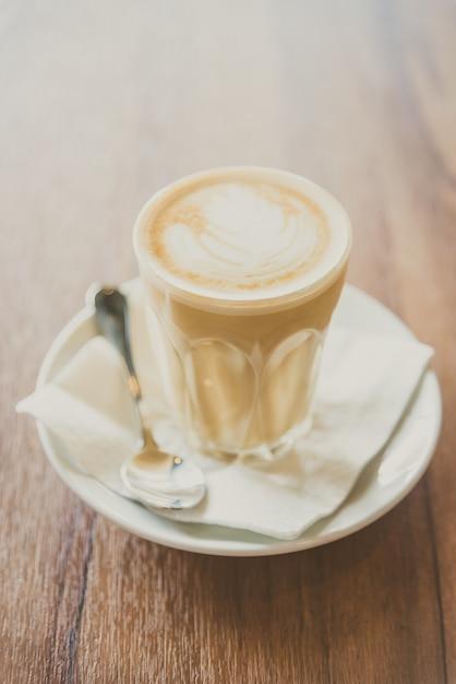 Горячий латте кофе Бесплатные Фотографии