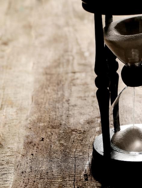 Hourglass measuring time Free Photo