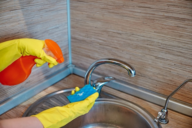 House cleaning concept Premium Photo