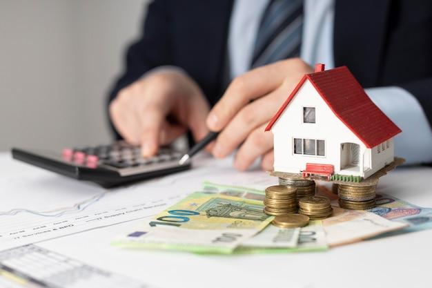 House investments elements arrangement Free Photo