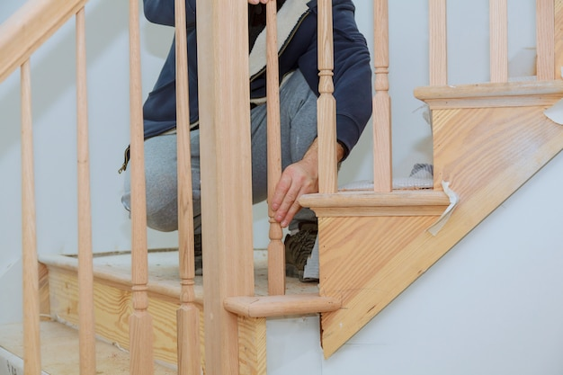 indoor railing kits for stairs railing stairs and.htm how to install a stair railing kit installation for wooden railing  stair railing kit installation