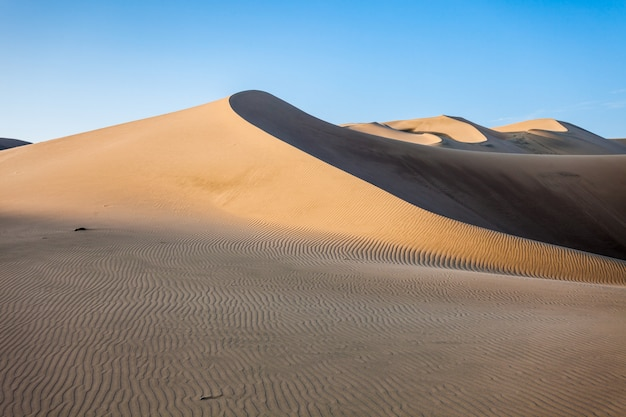 Huacachina desert dunes Premium Photo