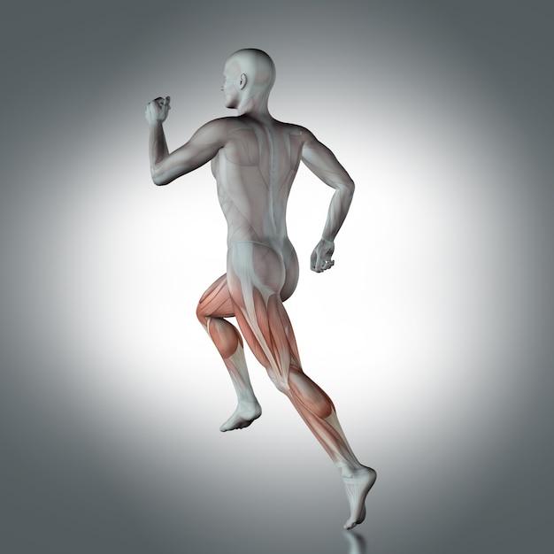 Human figure running Free Photo