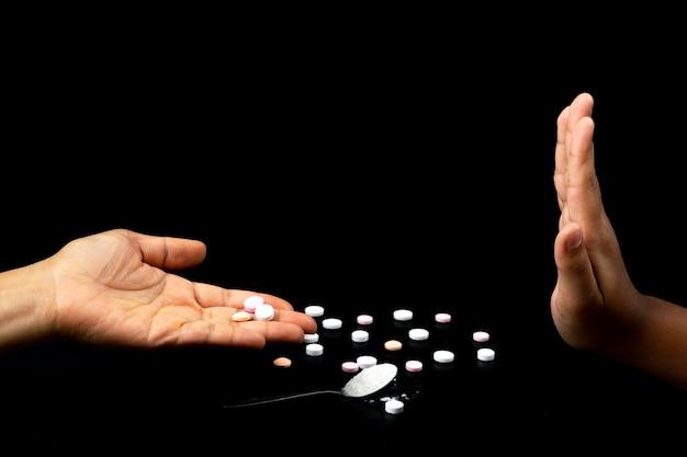 Человеческие руки Premium Фотографии
