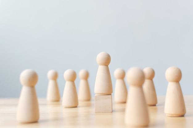Human resource, talent management, recruitment employee, successful business team leader concept Premium Photo