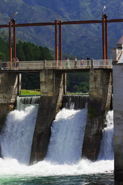 Hydro-electric power station Free Photo