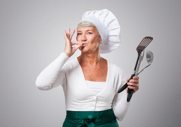 Sono il migliore chef per i miei nipoti Foto Gratuite