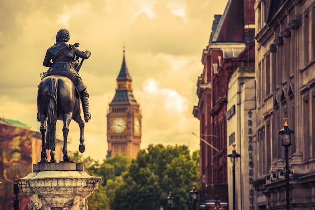 Лондонская статуя карла i Бесплатные Фотографии