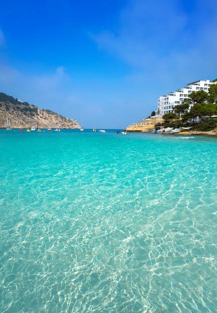 Ibiza cala llonga beach in santa eulalia Photo   Premium