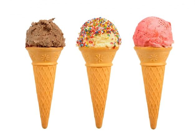 ice cream cones photo free download