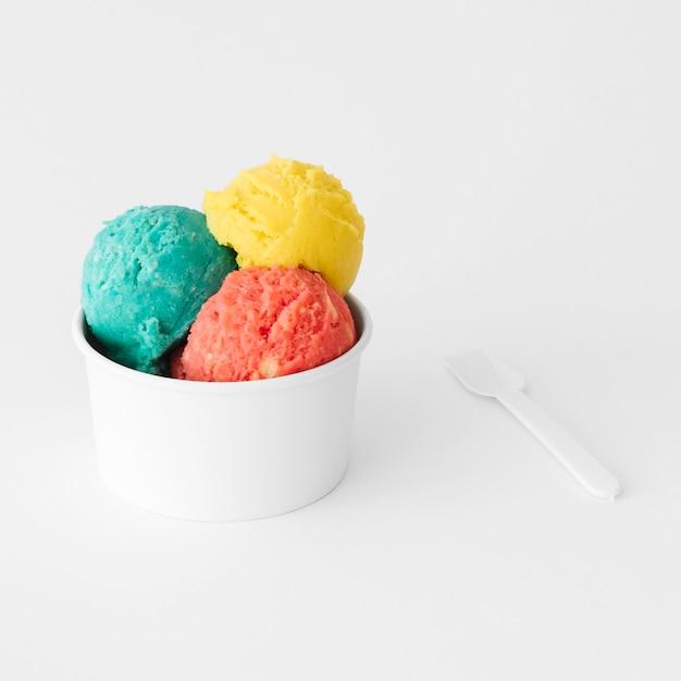 Ice cream cup Free Photo
