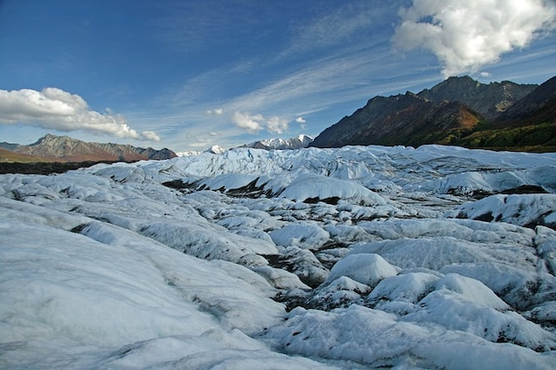 Ice landscape mountain alaska glacier Free Photo