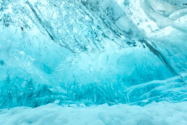 Ice wall texture Premium Photo