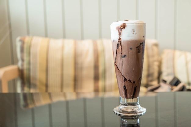 Iced chocolate Free Photo