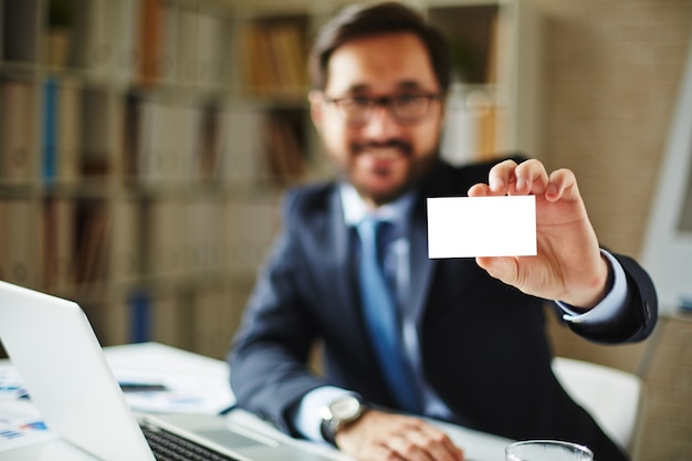 idea blank job closeup executive Premium Photo