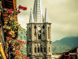 Iglesia jardin antioquia photo free download for Jardin antioquia