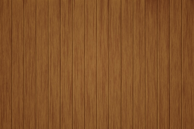 Illustration wooden background, the surface of the old brown wood texture Premium Photo
