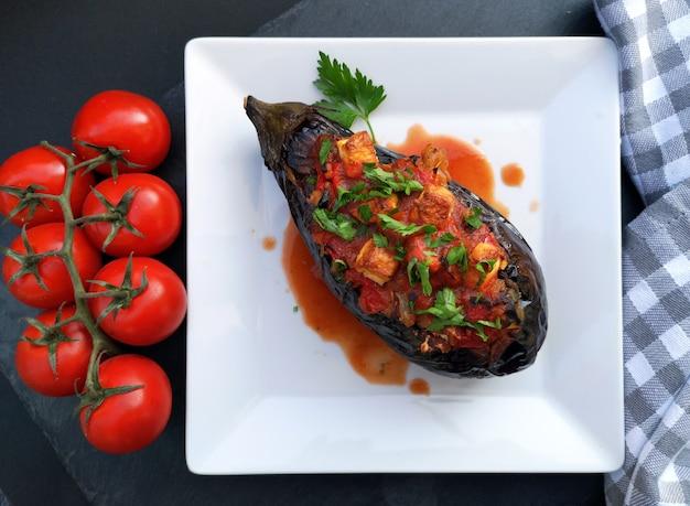 イマームバイルディ、伝統的なトルコ料理 無料写真