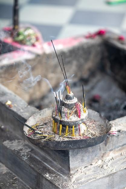 Incense stick Premium Photo