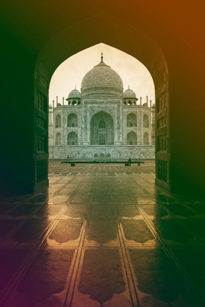 India palace tunnel view Free Photo