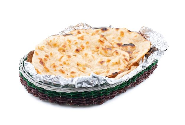 Indian cuisine tandoori roti Premium Photo