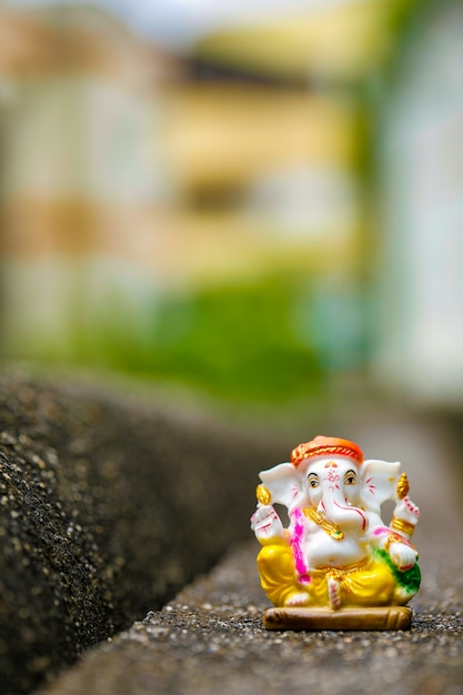 Indian festival , lord ganesha Premium Photo