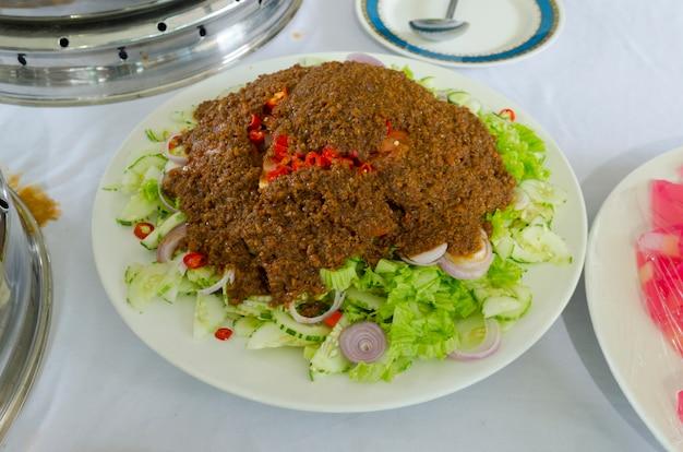 Indian food specialties Premium Photo