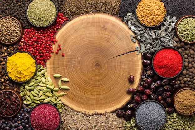 Indian spices Premium Photo