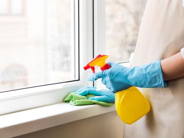 Индивидуальная дезинфекция дома с распылителем Бесплатные Фотографии