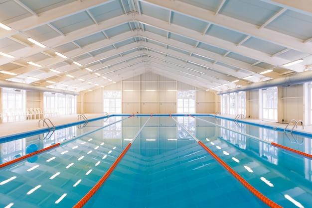 Indoors swimming pool Free Photo