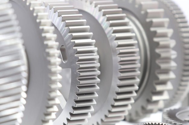 Industrial gear spare parts for heavy machine Premium Photo