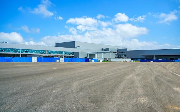 工業団地、工場ビル、倉庫 無料写真