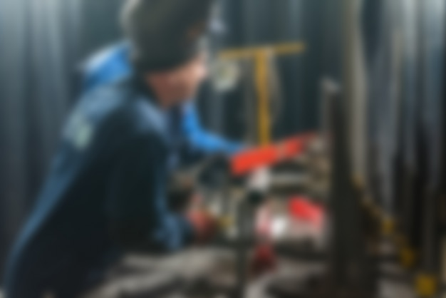 Industrial production factory theme blur background Free Photo