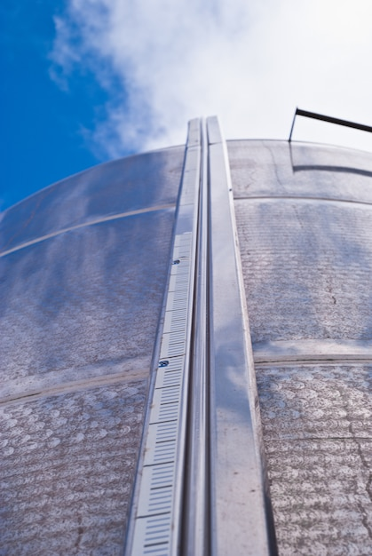 Industrial silos.detail Premium Photo