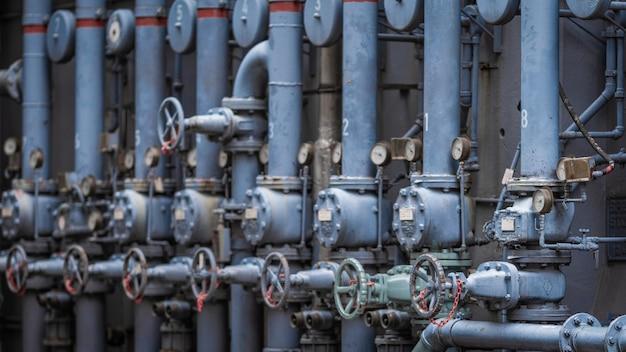 Industrial valve control Premium Photo