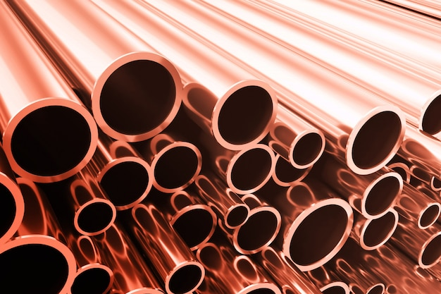 Industry business production and heavy metallurgical industrial products Premium Photo