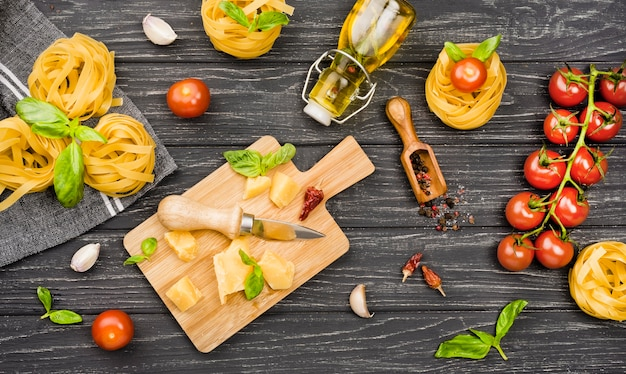 イタリア料理の材料 無料写真