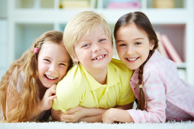 Innocent Children Playing Together Photo Free Download
