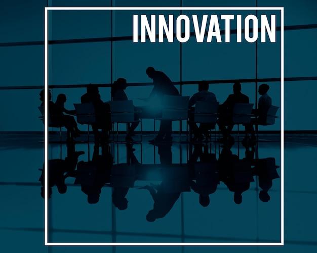 イノベーション革新技術開発未来的コンセプト 無料写真