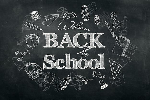 Inscription back to school Premium Photo