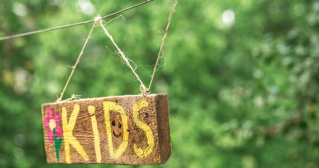 I bambini dell'iscrizione Foto Gratuite