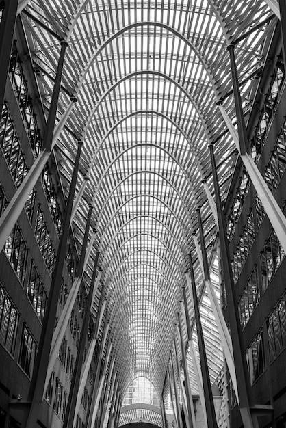Внутри знаменитого brookfield place в торонто, канада Бесплатные Фотографии