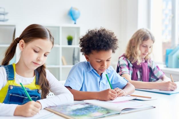 Intercultural pupils Free Photo