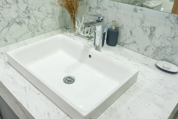 amazing marble countertop sink design and modern faucet.htm interior of bathroom with sink basin faucet and mirror modern  sink basin faucet and mirror modern