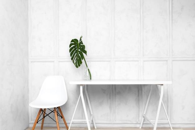 Interior design of creative home office Premium Photo