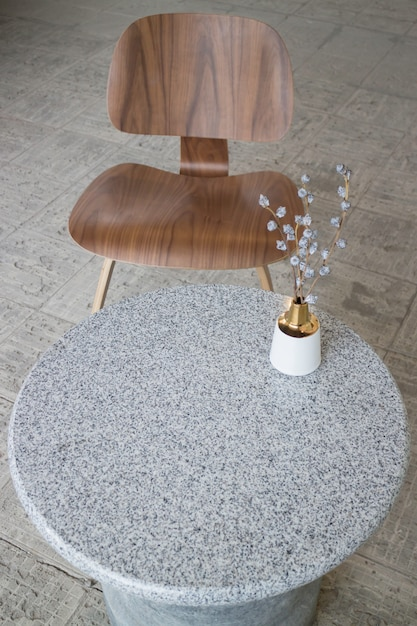 Interior design multipurpose table in modern style Premium Photo